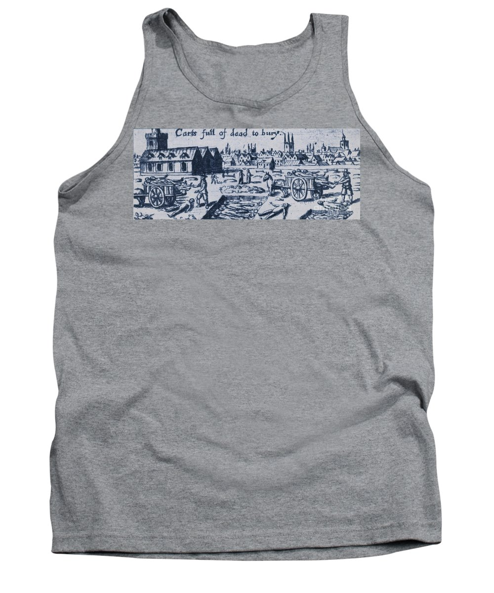 Plague Tank Top featuring the photograph Plague, 1665 by Science Source