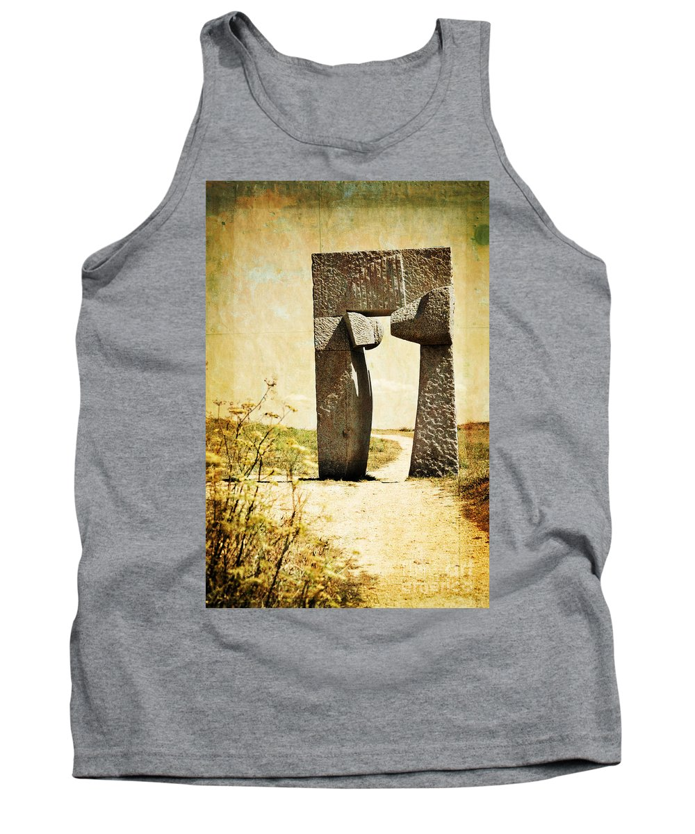 Portal Tank Top featuring the photograph Portal - La Coruna by Mary Machare