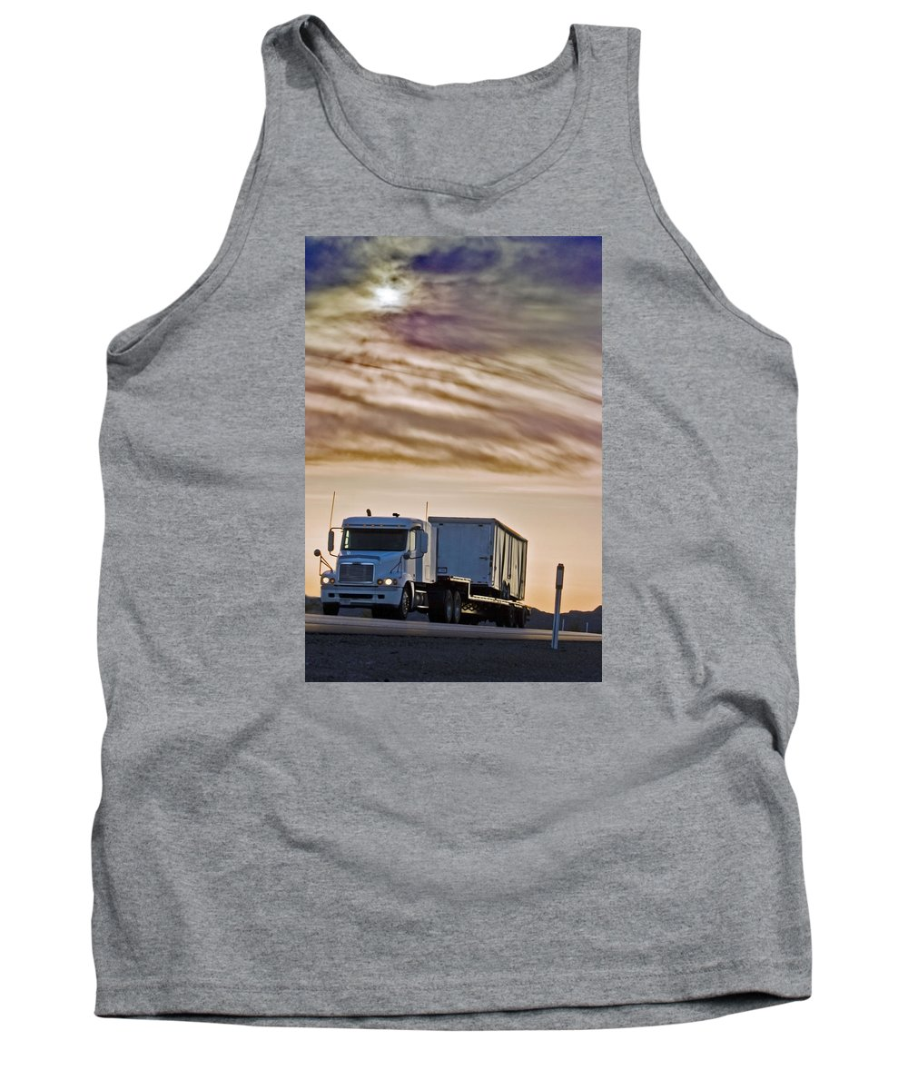 Landscape Tank Top featuring the photograph Precious Cargo by Shani Soils