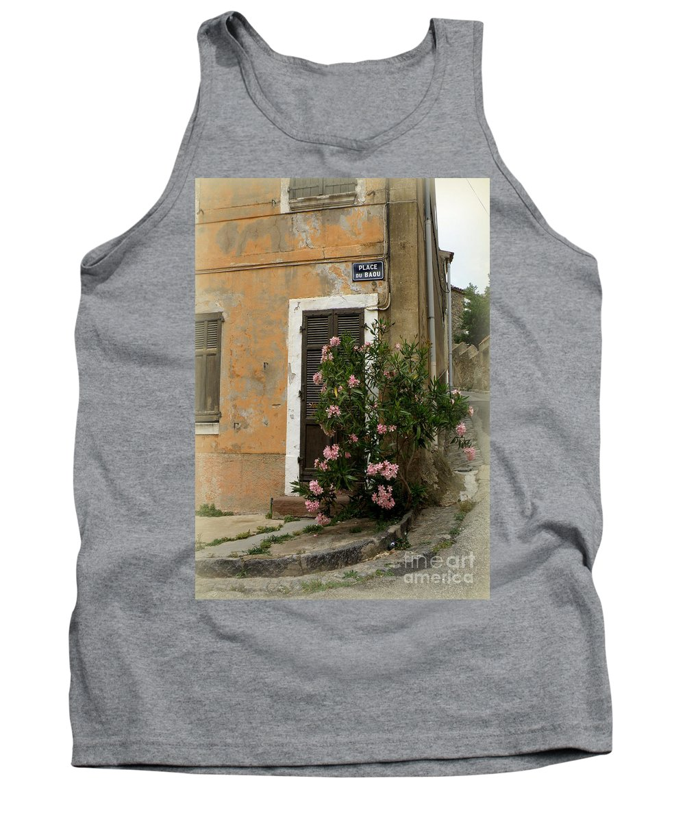 Doors And Windows Tank Top featuring the photograph Provence Door Number 9 by Lainie Wrightson
