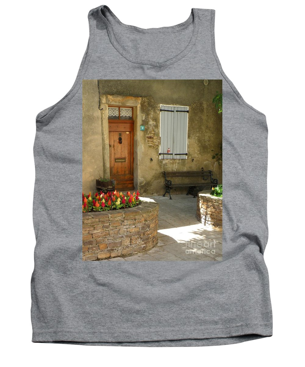 House Tank Top featuring the photograph Provence House 2 by Lainie Wrightson