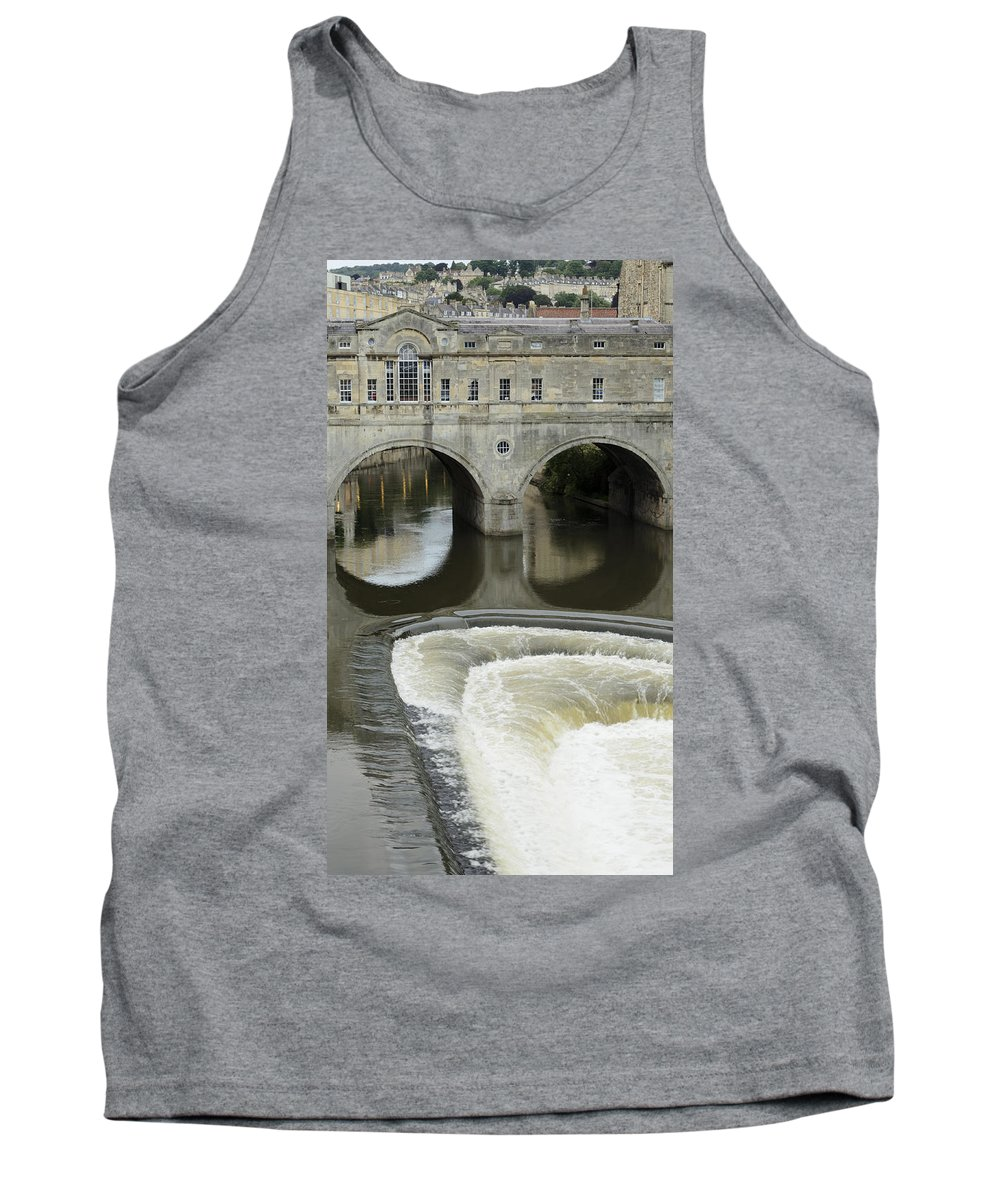 Bath Tank Top featuring the photograph Pulteney Bridge by Nick Field