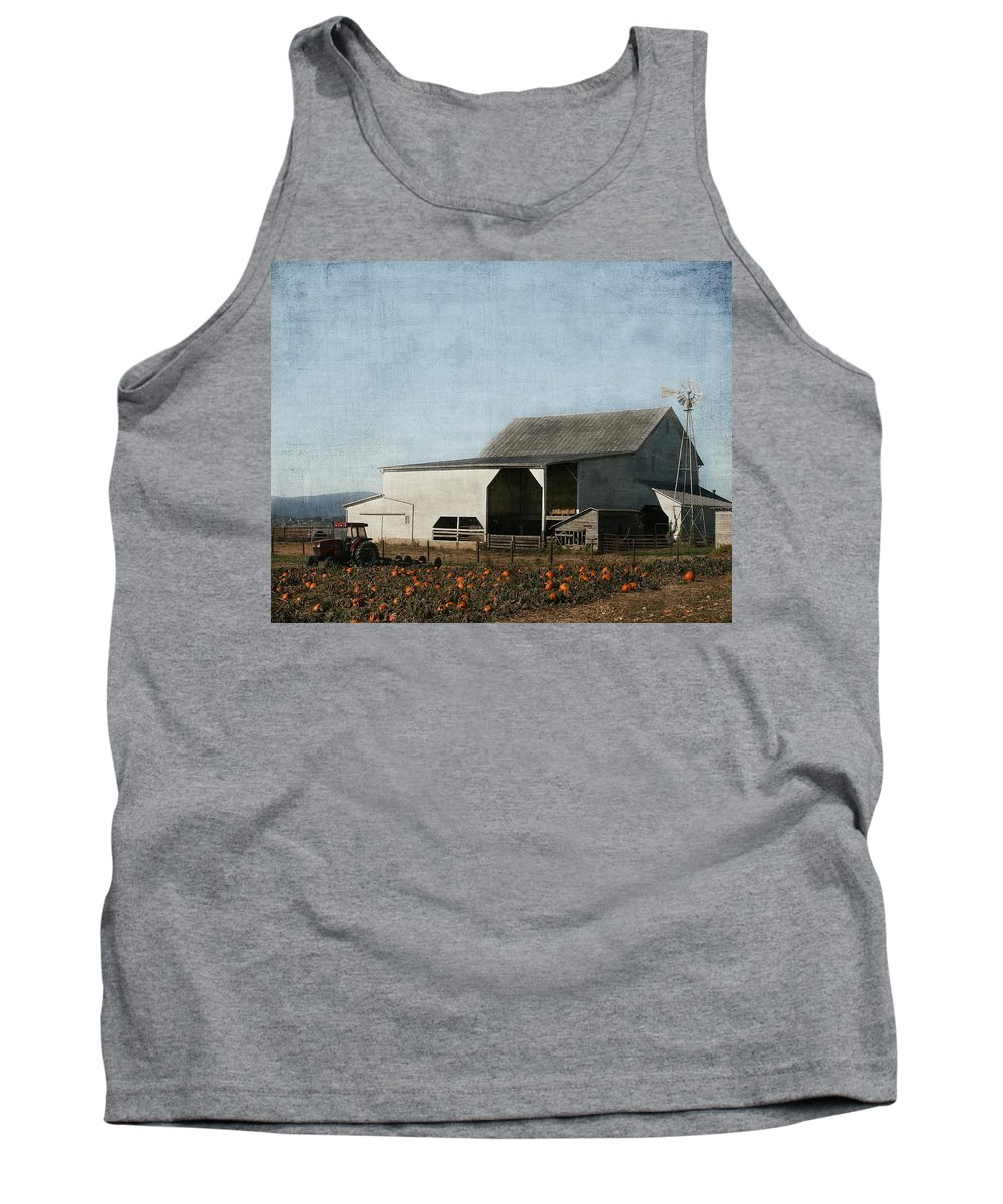 Farm Tank Top featuring the photograph Pumpkin Farm by Kim Hojnacki