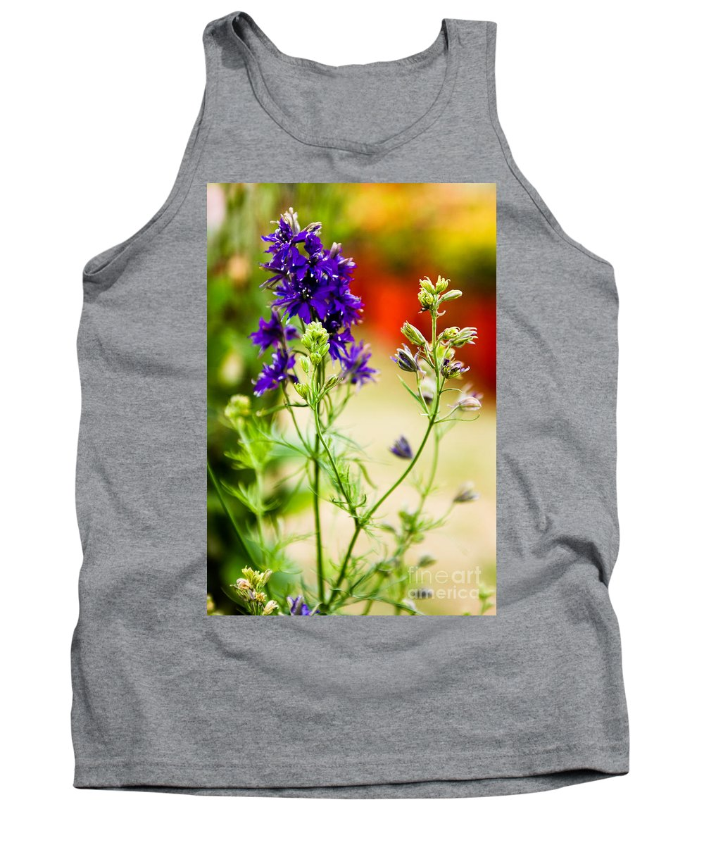 Flower Tank Top featuring the photograph Purple Flowers by Syed Aqueel