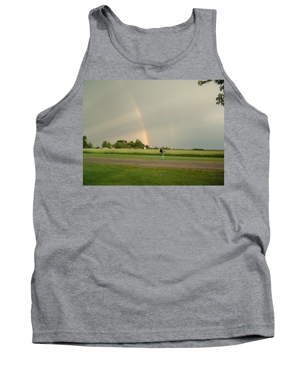 Rainbow Tank Top featuring the photograph Ray Bow by Bonfire Photography