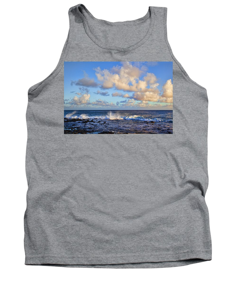 Ocean View Tank Top featuring the photograph Relaxing by Kelley King