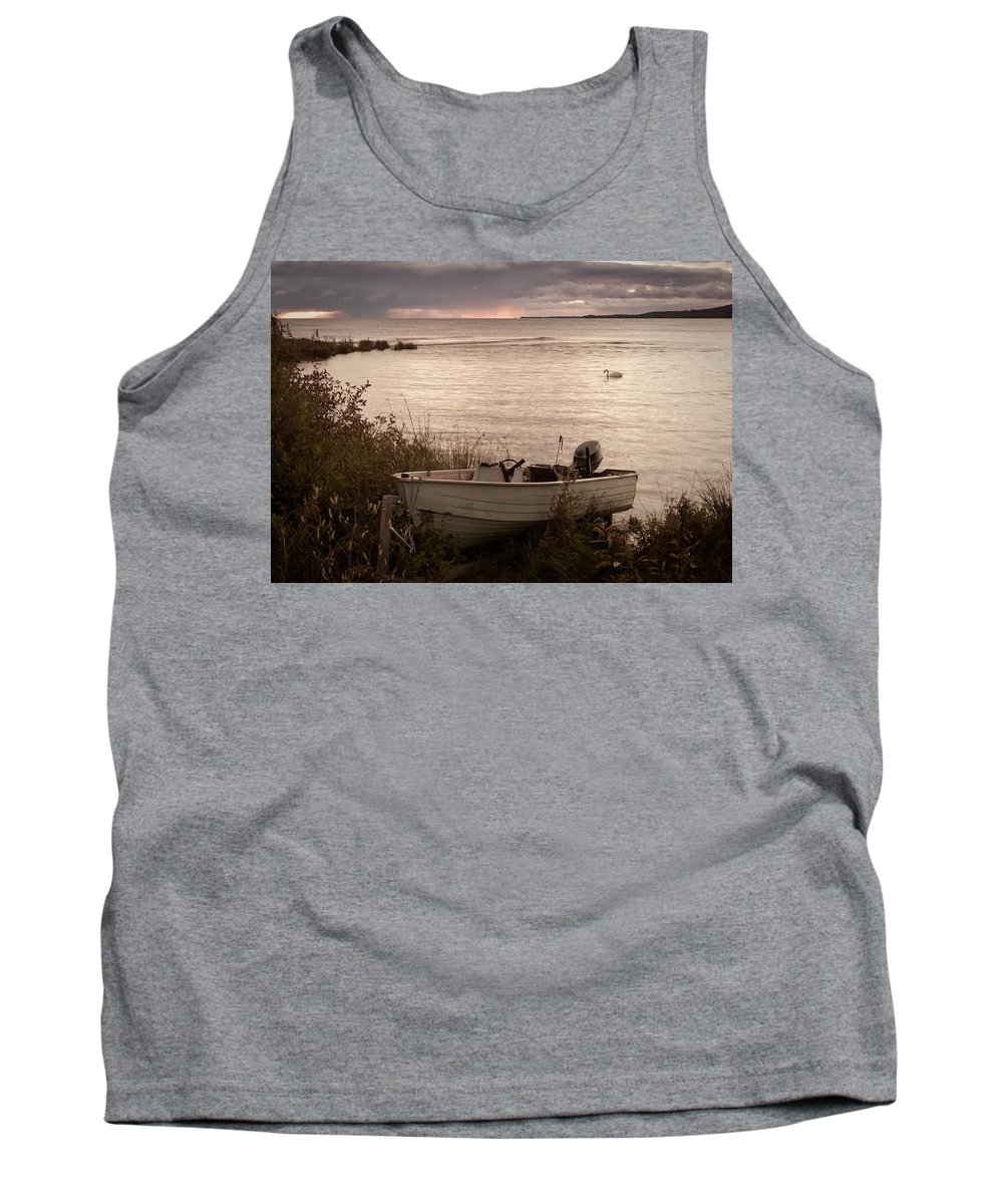 Canada Tank Top featuring the photograph Retired by Joye Ardyn Durham