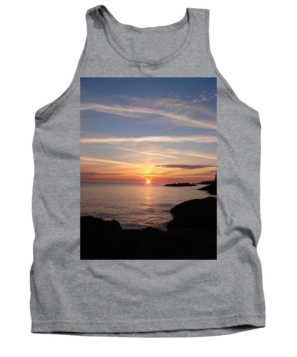 Sunrise Tank Top featuring the photograph Rising Sun by Bonfire Photography