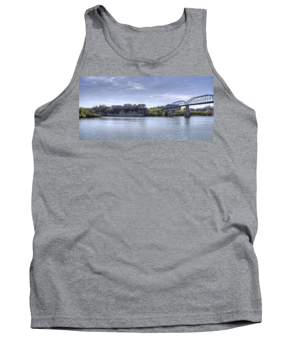 Chattanooga Tank Top featuring the photograph River Bluff by David Troxel
