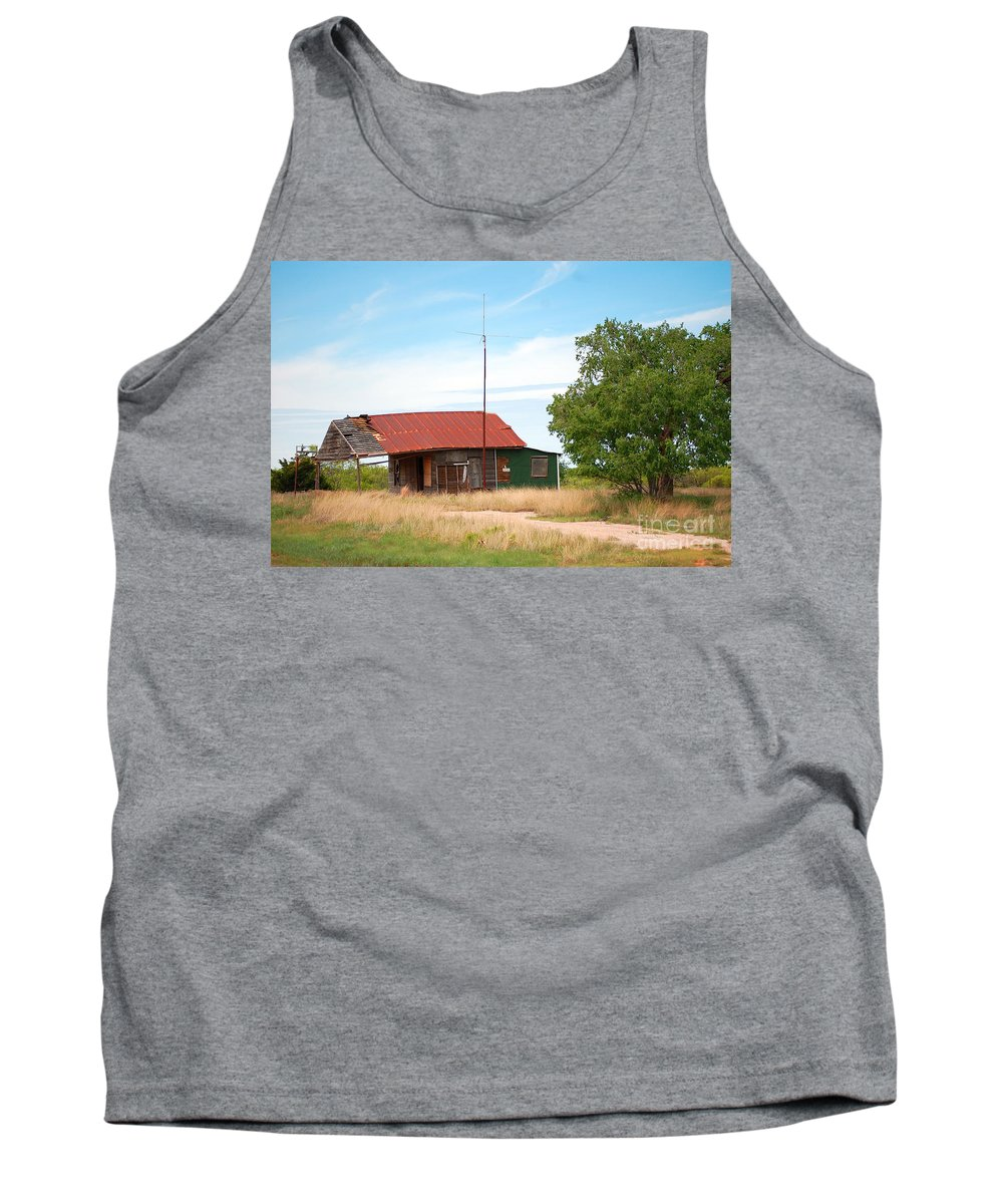 Landscape Tank Top featuring the photograph Road Not Taken by Anjanette Douglas