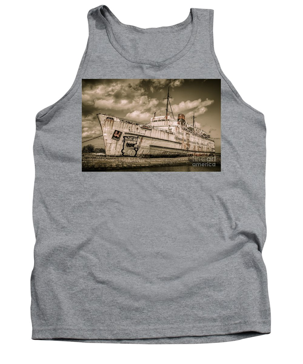 Graffiti Tank Top featuring the photograph Rusty Duke by Adrian Evans