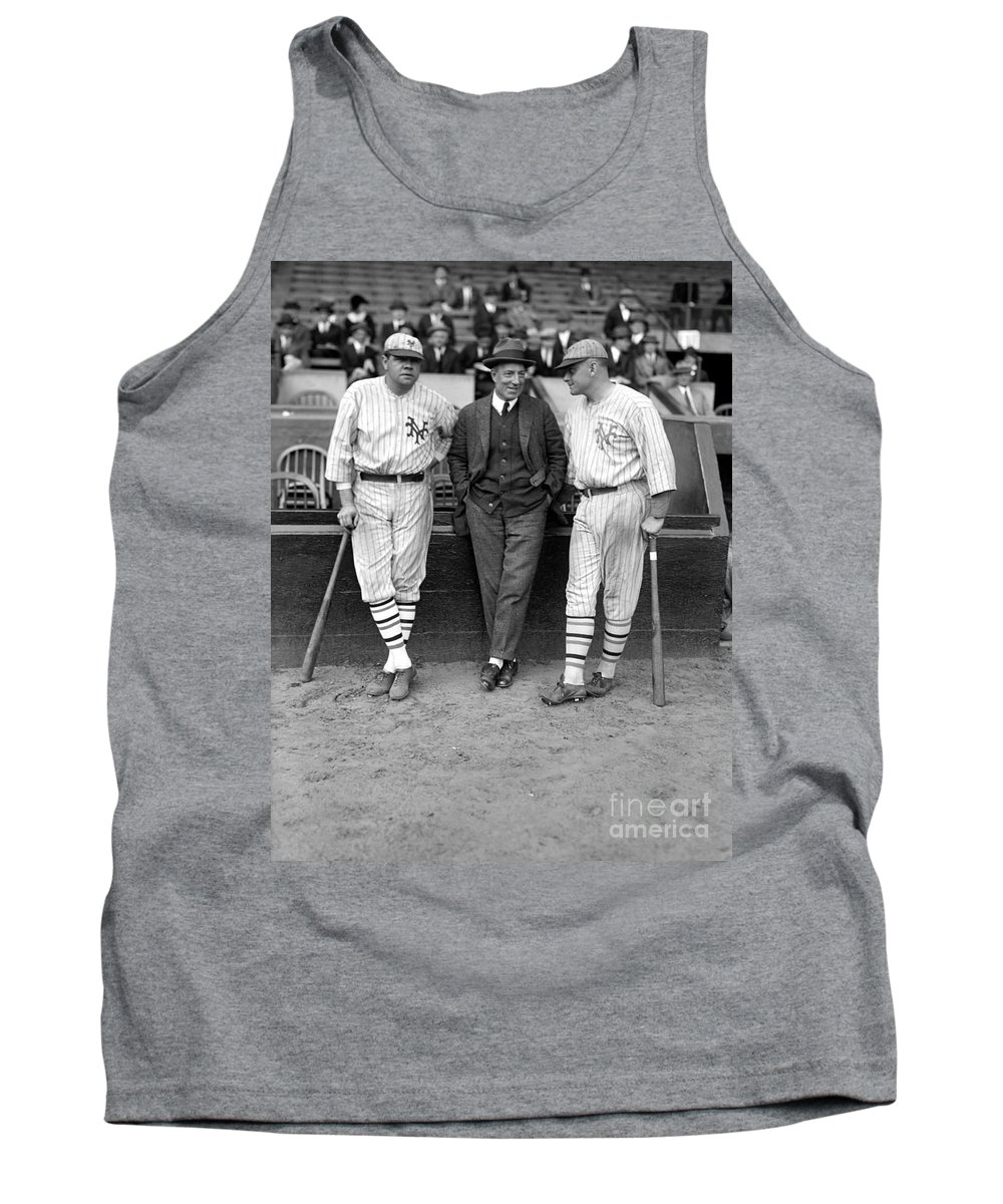 1923 Tank Top featuring the photograph Ruth, Dunn And Bentley by Granger