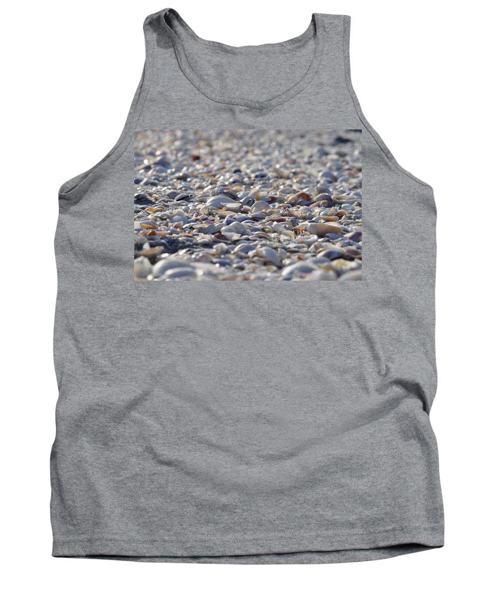 Seashells Tank Top featuring the photograph Seashells by Joe Freeman