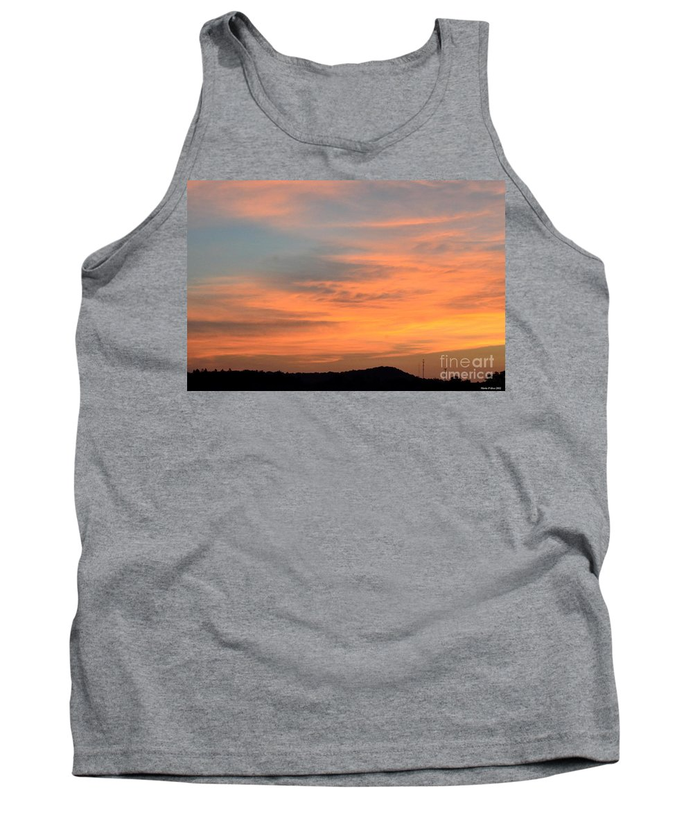 September 27 2012 Sunrise Tank Top featuring the photograph September 27 2012 Sunrise by Maria Urso