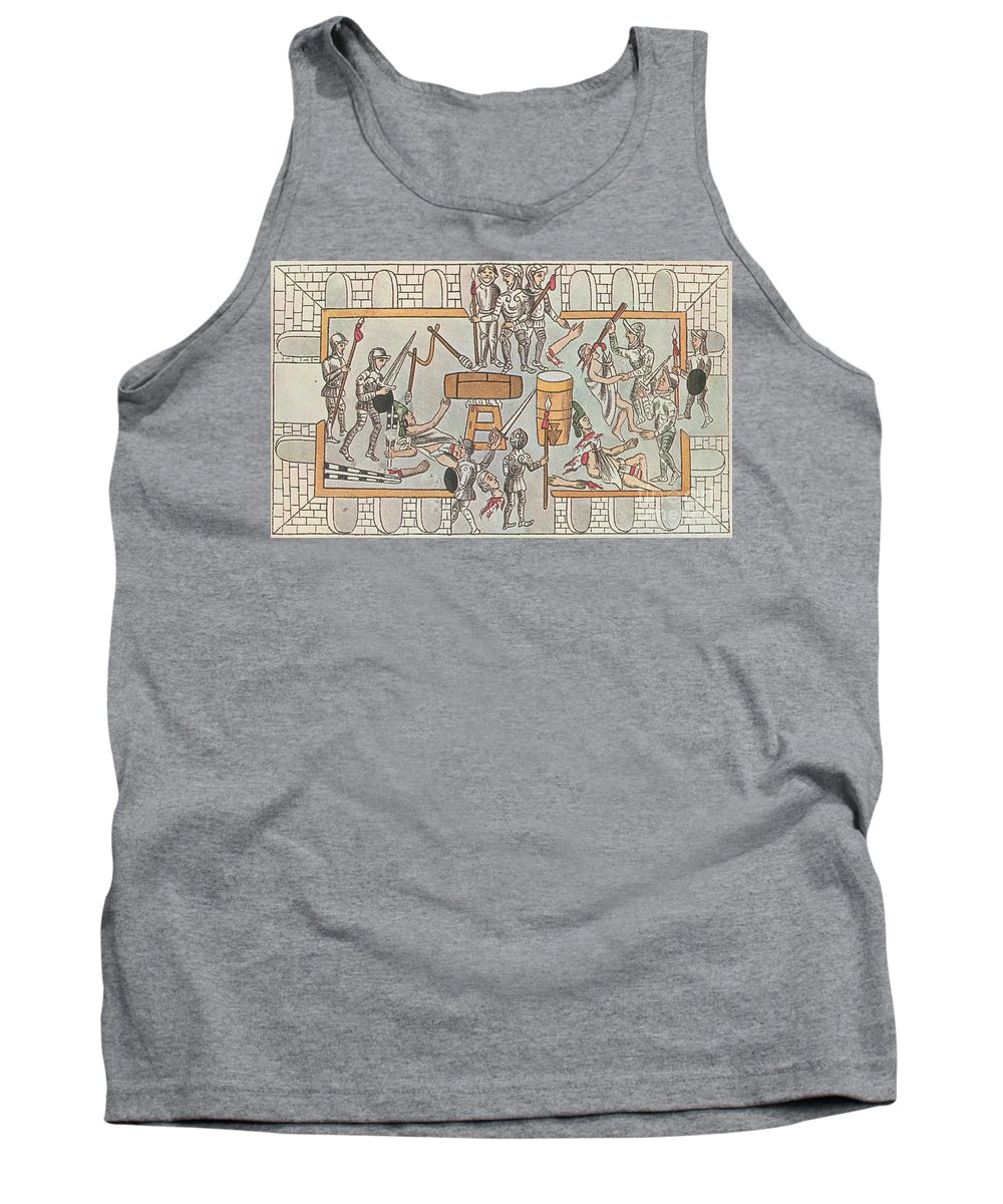Art Tank Top featuring the photograph Siege Of Tenochtitlan, 1521 by Photo Researchers