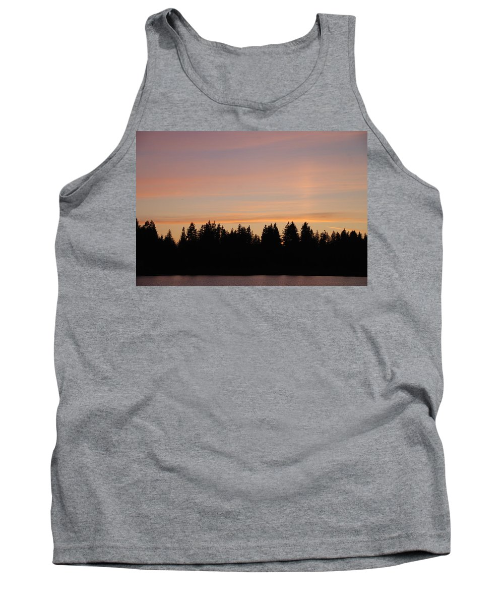 Sunset Tank Top featuring the photograph Silver Lake Sunset by Michael Merry