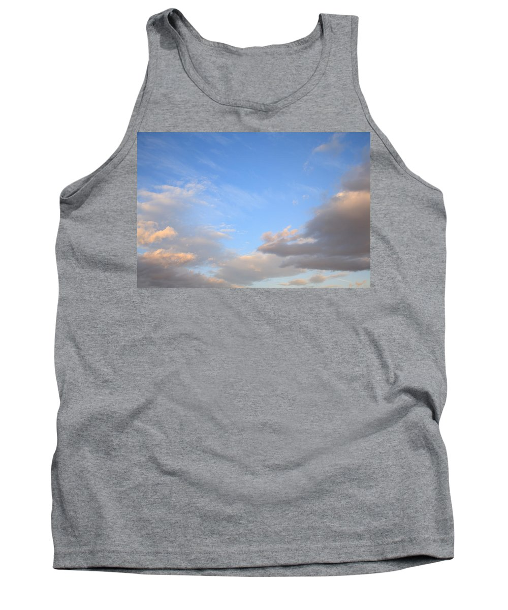 Weather Tank Top featuring the photograph Sky And Clouds by Ian Middleton