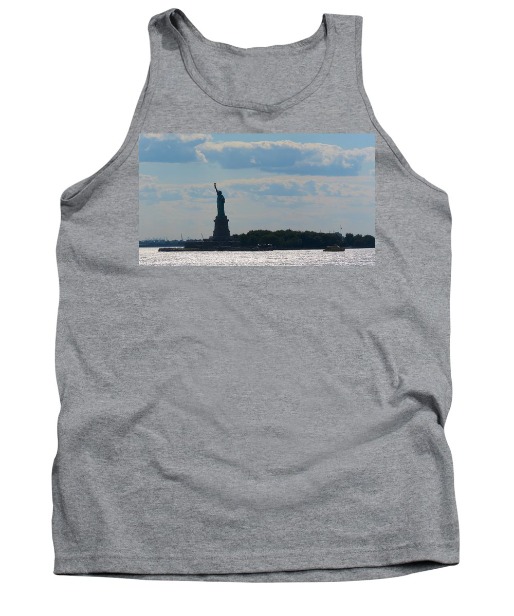 South Ferry Tank Top featuring the photograph South Ferry Water Ride11 by Terry Wallace