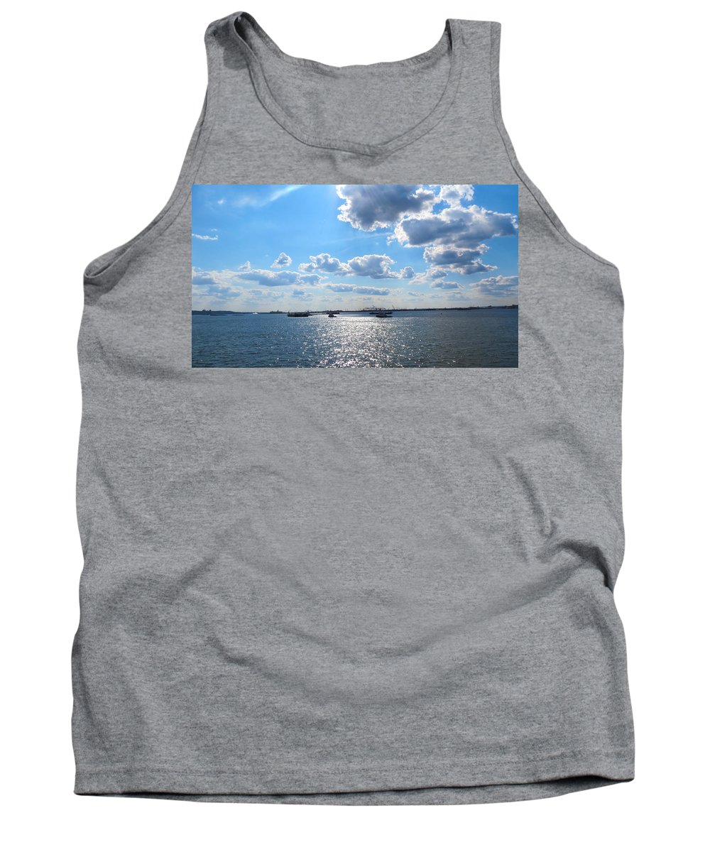 South Ferry Tank Top featuring the photograph South Ferry Water Ride15 by Terry Wallace