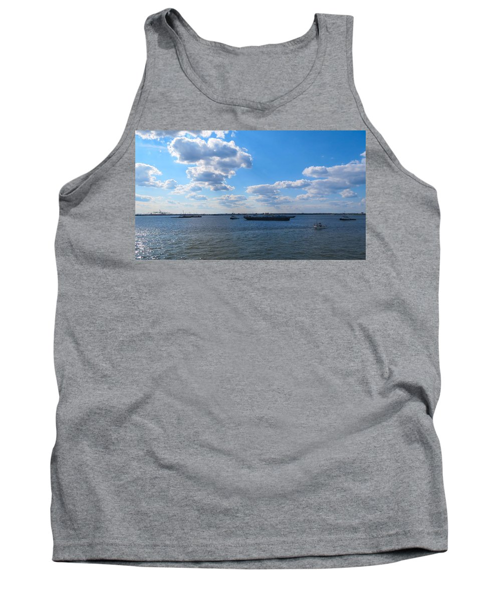 South Ferry Tank Top featuring the photograph South Ferry Water Ride17 by Terry Wallace