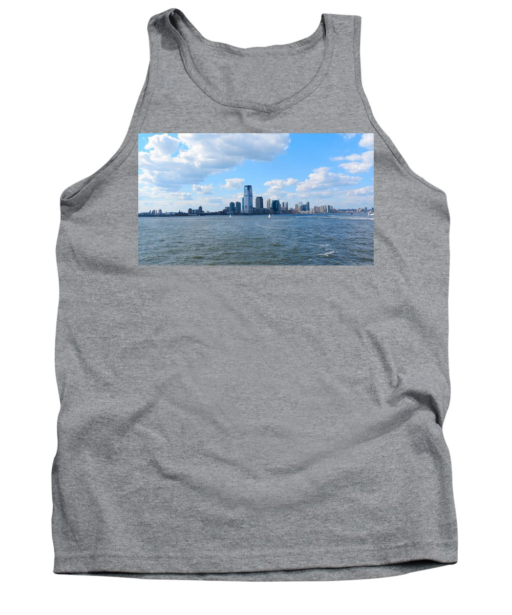 South Ferry Tank Top featuring the photograph South Ferry Water Ride6 by Terry Wallace