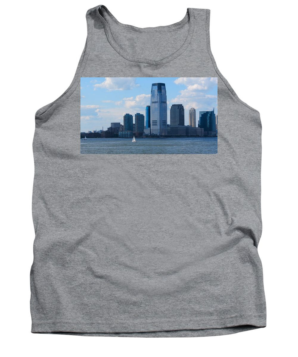 South Ferry Tank Top featuring the photograph South Ferry Water Ride7 by Terry Wallace