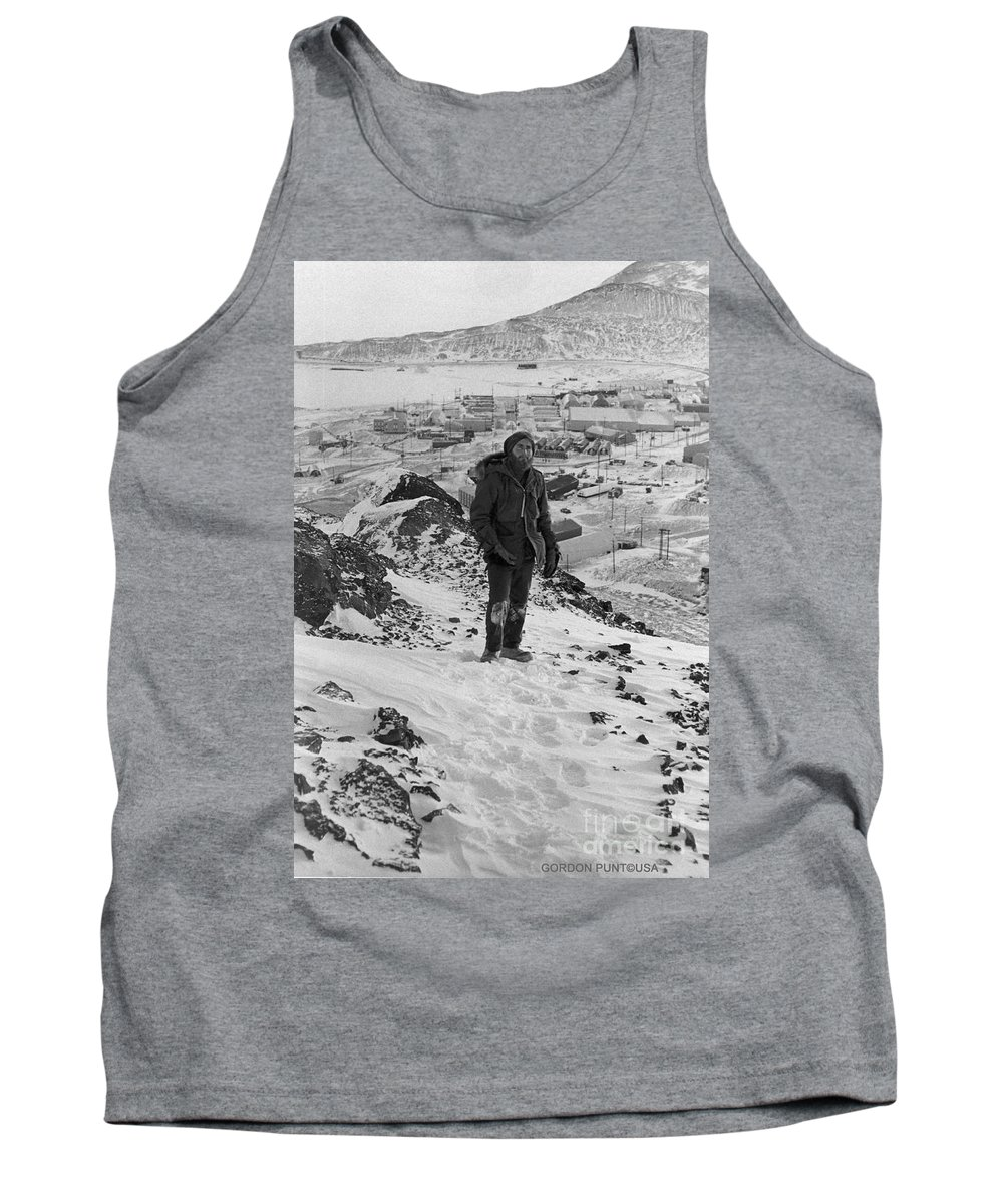 South Pole Tank Top featuring the photograph Southpole-antarctica-photos-4 by Gordon Punt