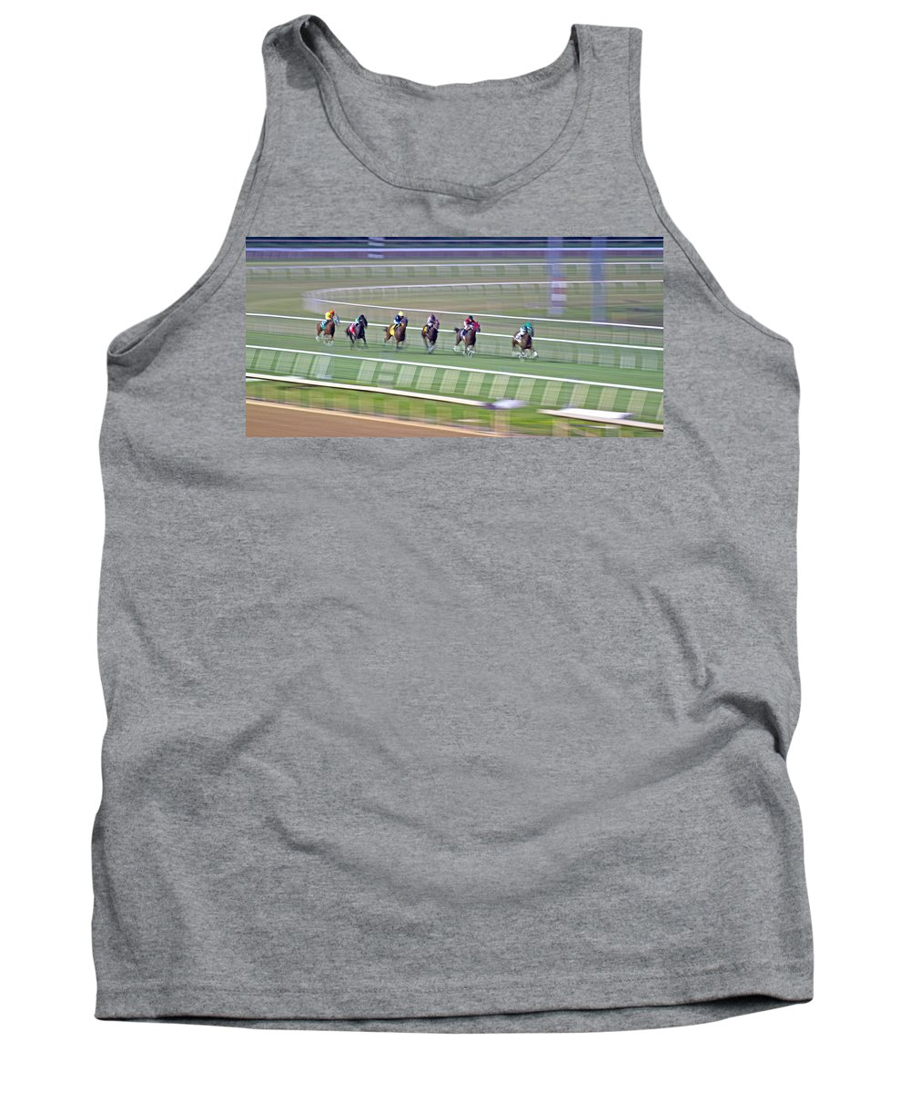 Horse Tank Top featuring the photograph Spirit by Betsy Knapp