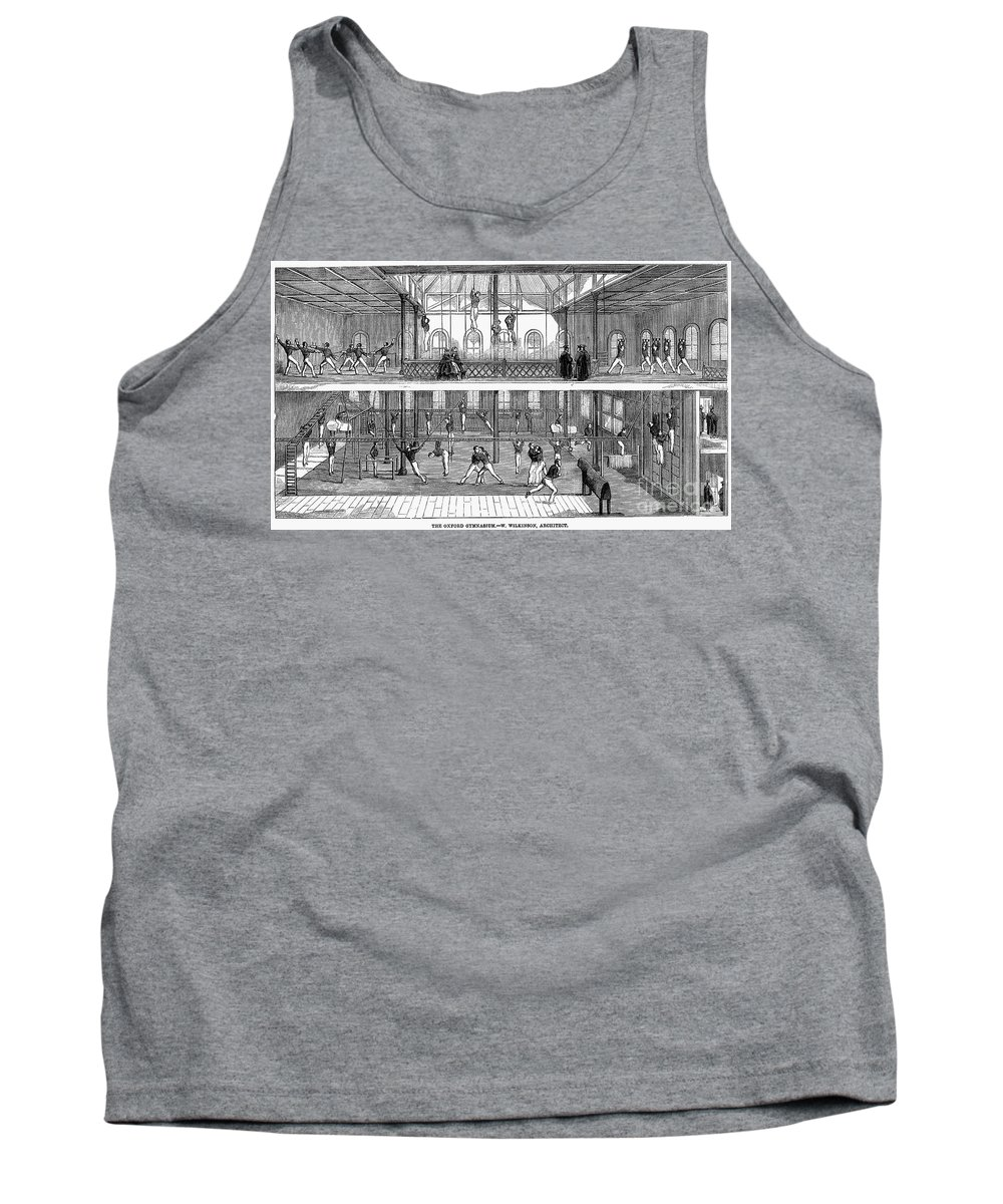 1859 Tank Top featuring the photograph Sports: Gymnastics, 1859 by Granger