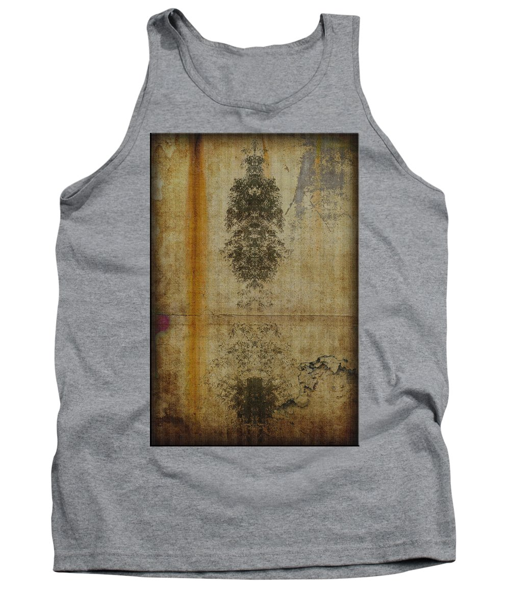 Stains Tank Top featuring the photograph Stains by Jay Hooker