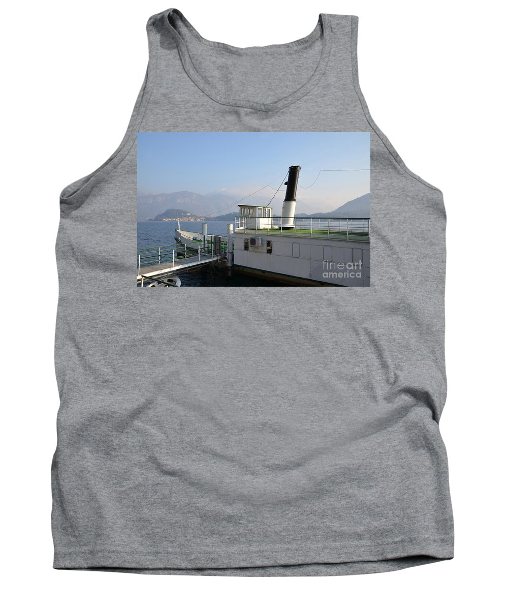 Steamship Tank Top featuring the photograph Steamship by Mats Silvan