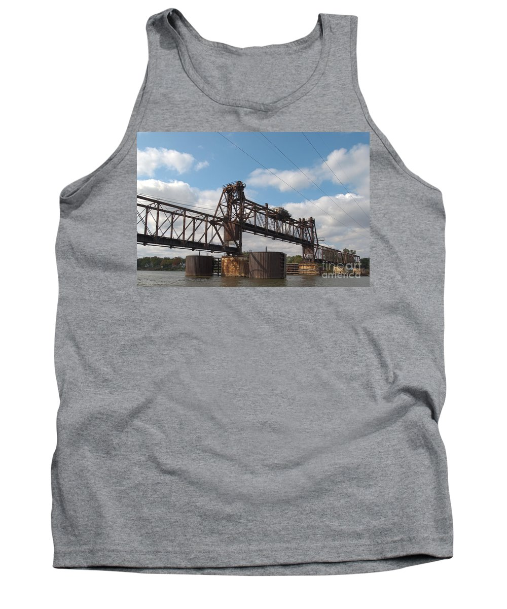 Beautiful Tank Top featuring the photograph Steel Water Hdr Number 1 by Alan Look