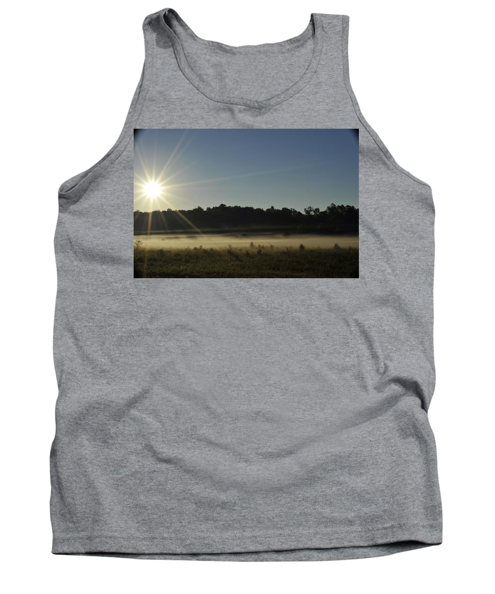 Sunrise Tank Top featuring the photograph Sunrise In Waverley by Elaine Mikkelstrup