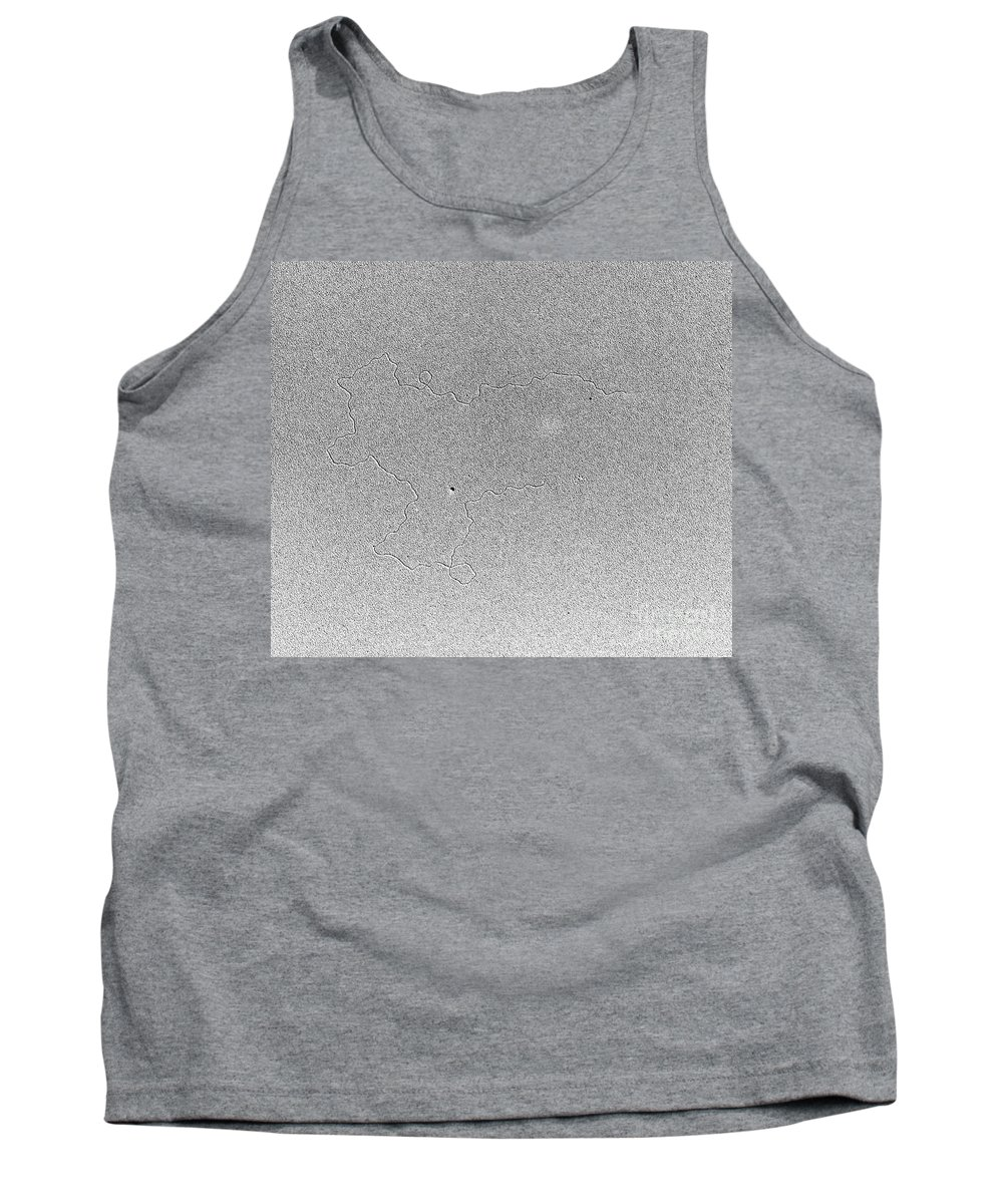 Tem Tank Top featuring the photograph Tem Of Dna by Science Source
