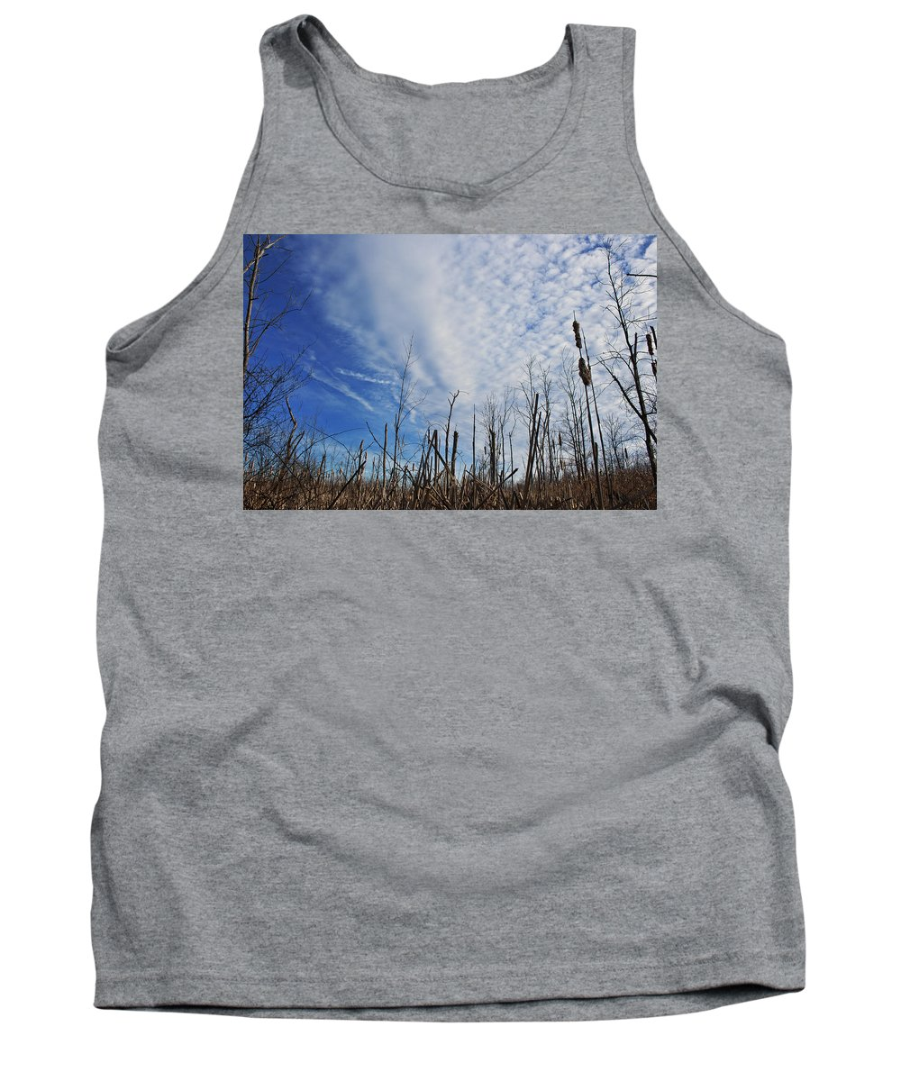 Brush Tank Top featuring the photograph The Calm Before The Storm by Scott Wood
