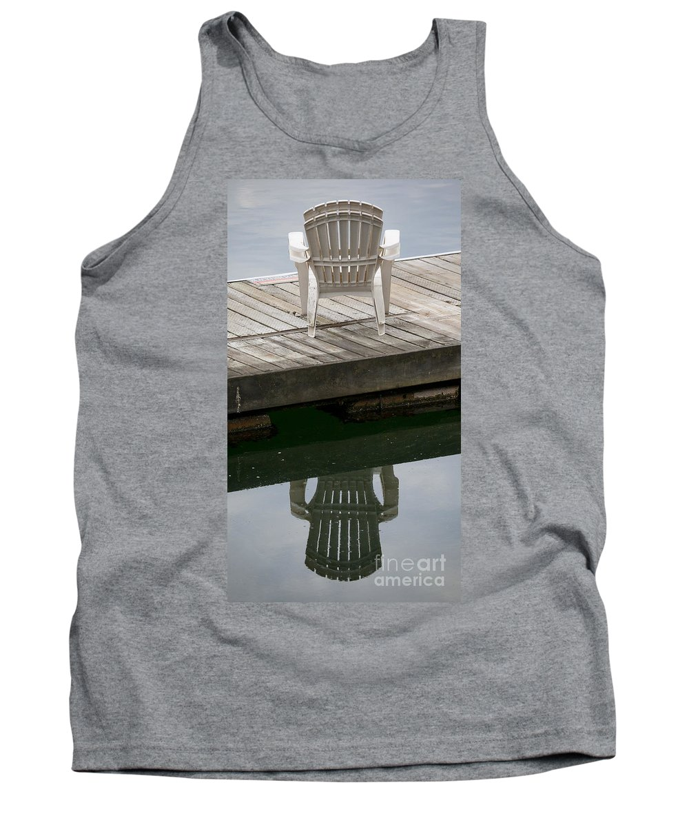 Chairs Tank Top featuring the photograph The Chairs by Chris Dutton
