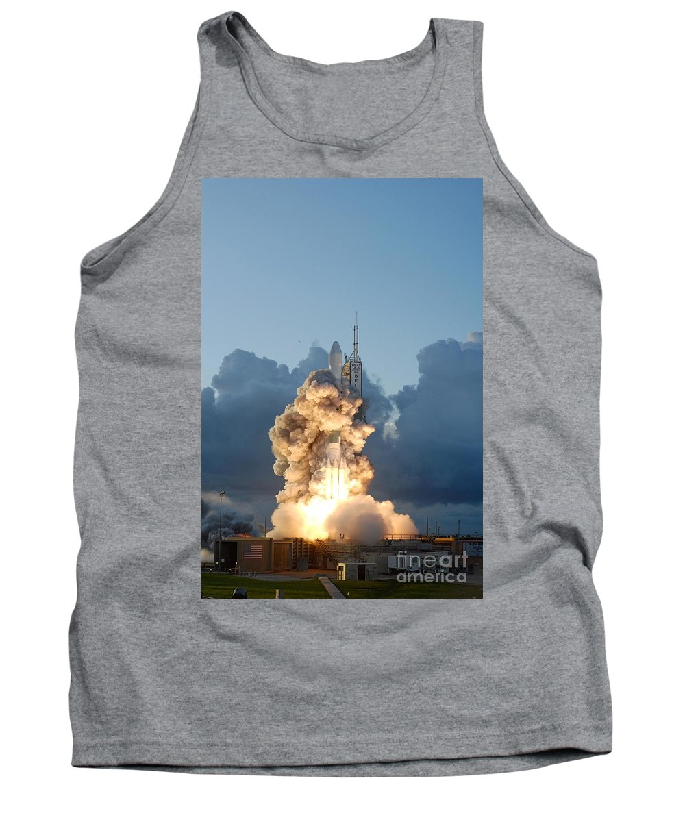 Science Tank Top featuring the photograph The Dawn Spacecraft by NASA/Science Source