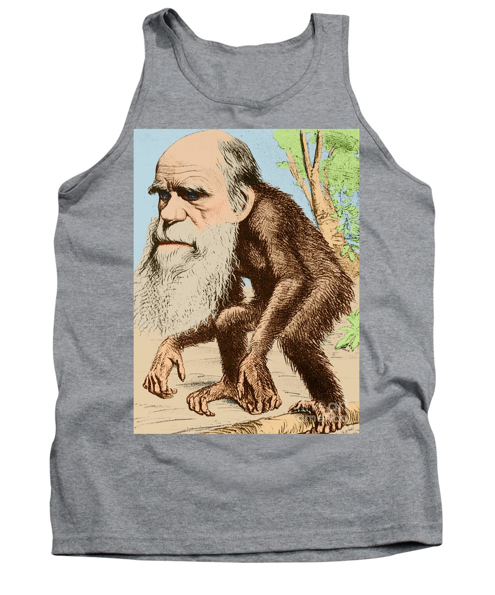 History Tank Top featuring the photograph Venerable Oran-outang, Contribution by Science Source