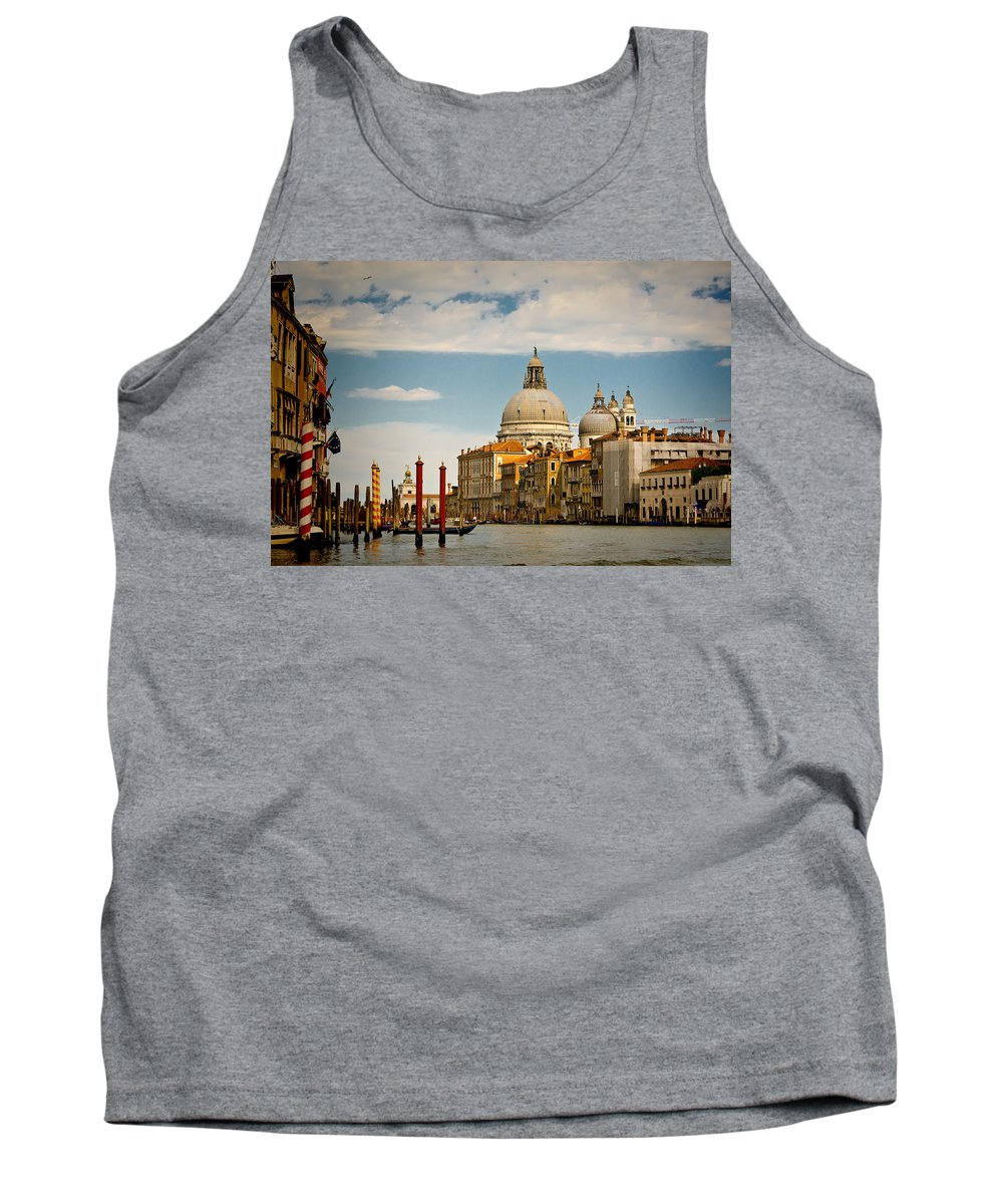 Venice Tank Top featuring the photograph Venice Entryway by Jon Berghoff