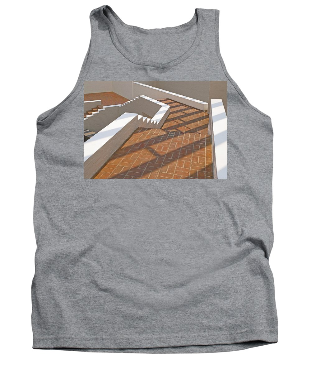 Photography Tank Top featuring the photograph Walk This Way by Paul Wear