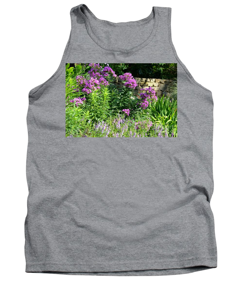 Stone Tank Top featuring the photograph Wall Front by Maria Urso