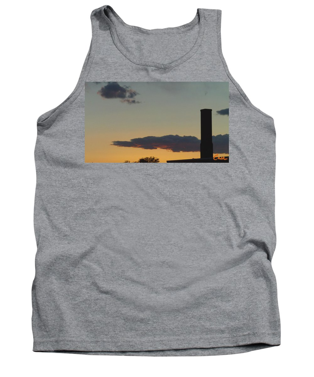Whittier Evenings Soiree Tank Top featuring the photograph Whittier Evenings Soiree 5 28 12 E by Feile Case