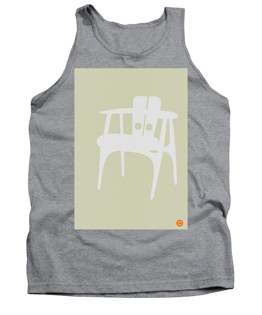 Chair Tank Top featuring the photograph Wooden Chair by Naxart Studio