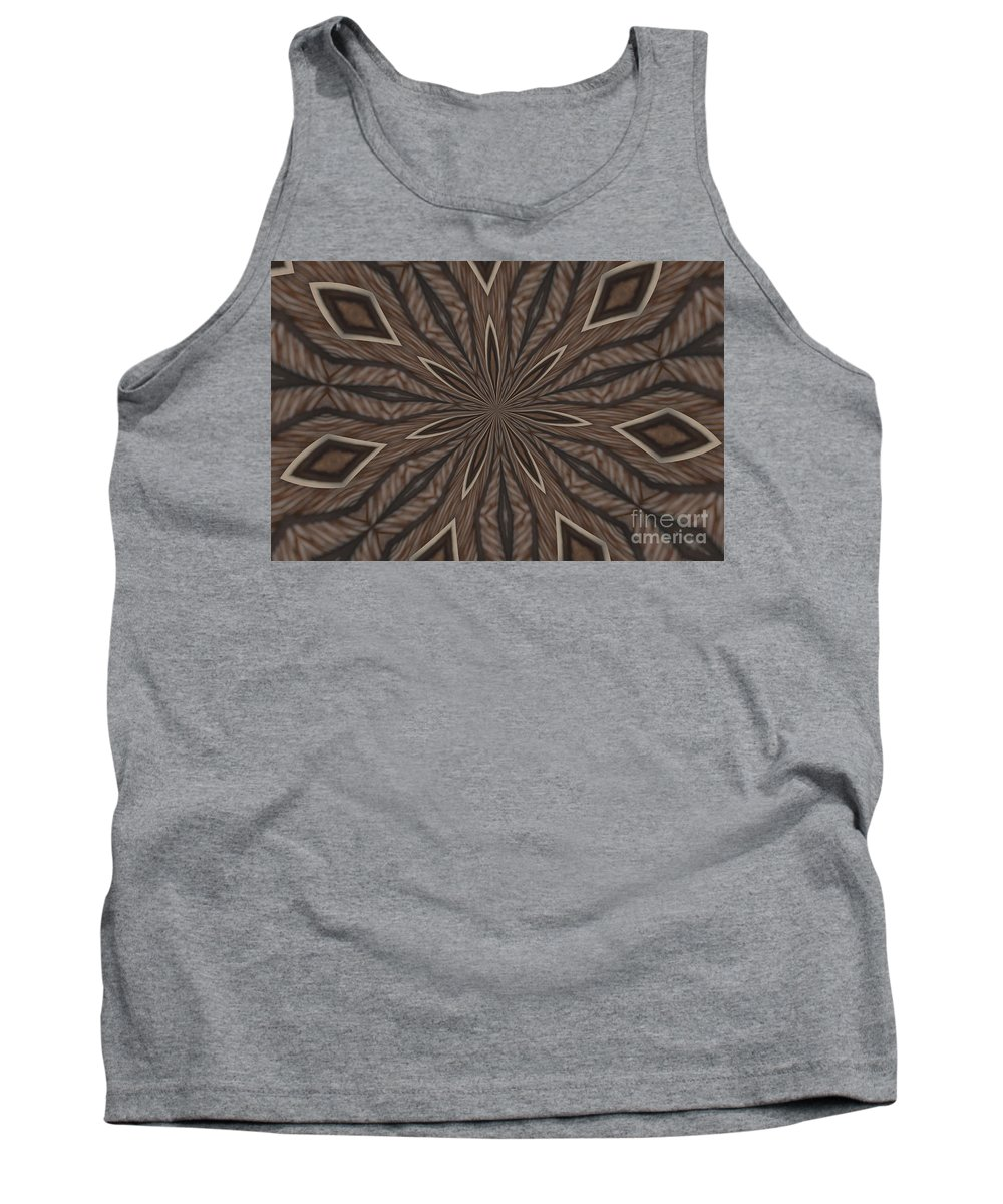 Kaleidoscope Tank Top featuring the photograph Zebra Stripes by Donna Brown
