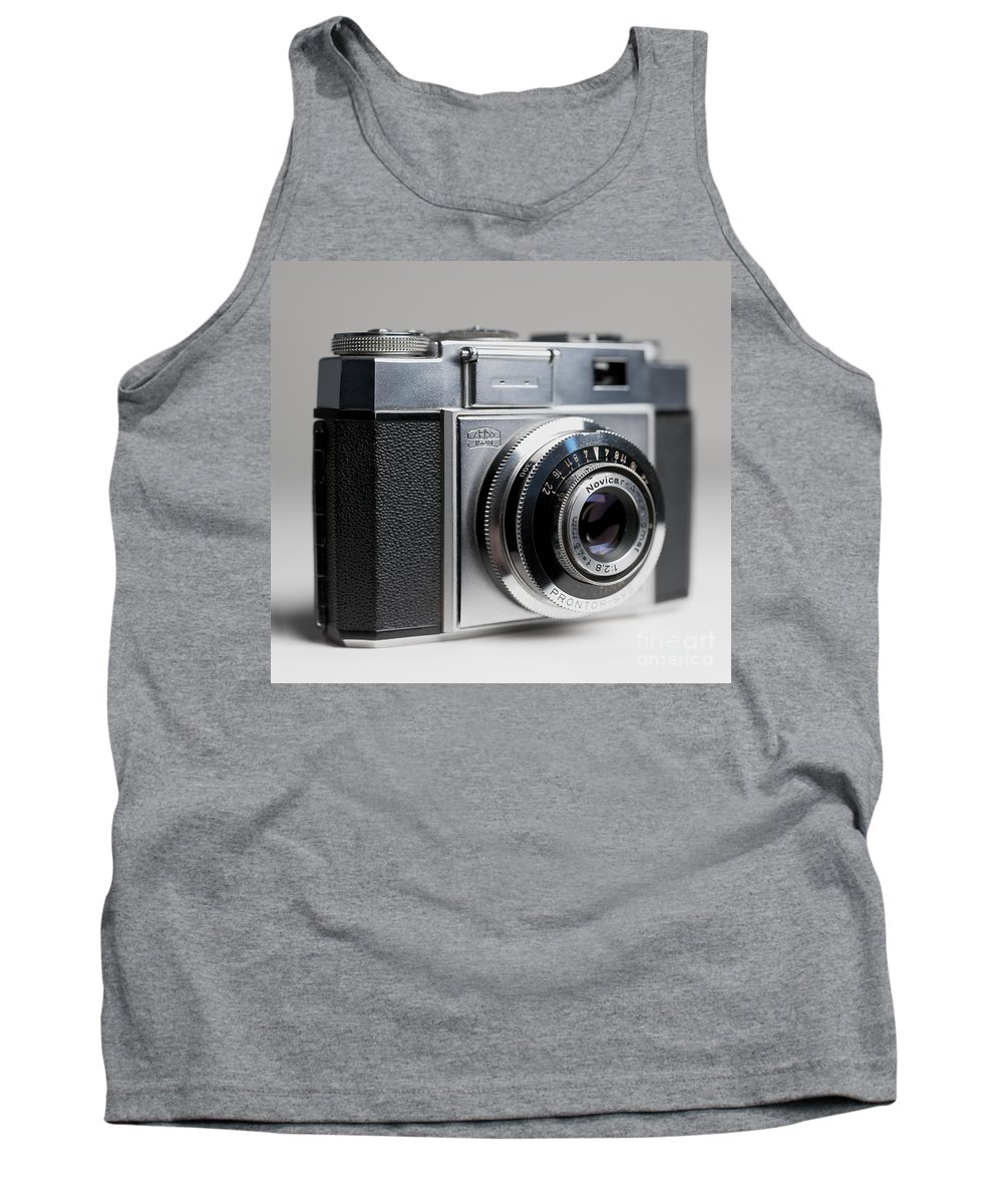 Zeiss Ikon Tank Top featuring the photograph Zeiss Contina by Art Whitton