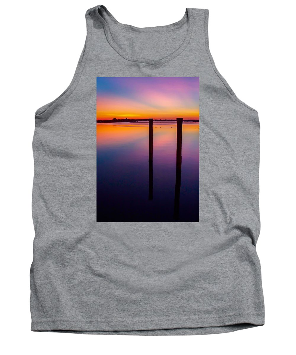 Gaetano Chieffo Tank Top featuring the photograph Color Before Dark by Gaetano Chieffo
