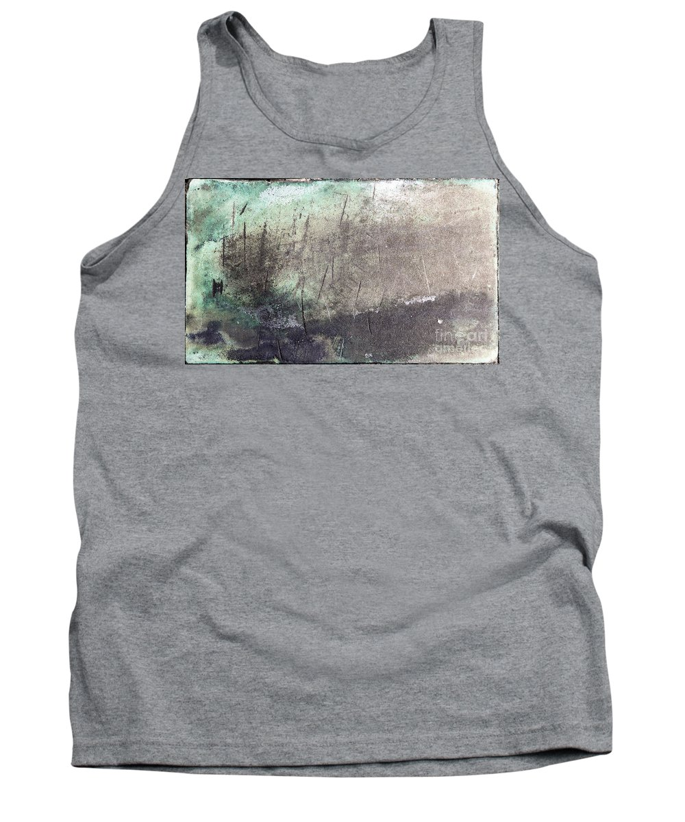 Green Tank Top featuring the photograph Abstract Background by Vladi Alon