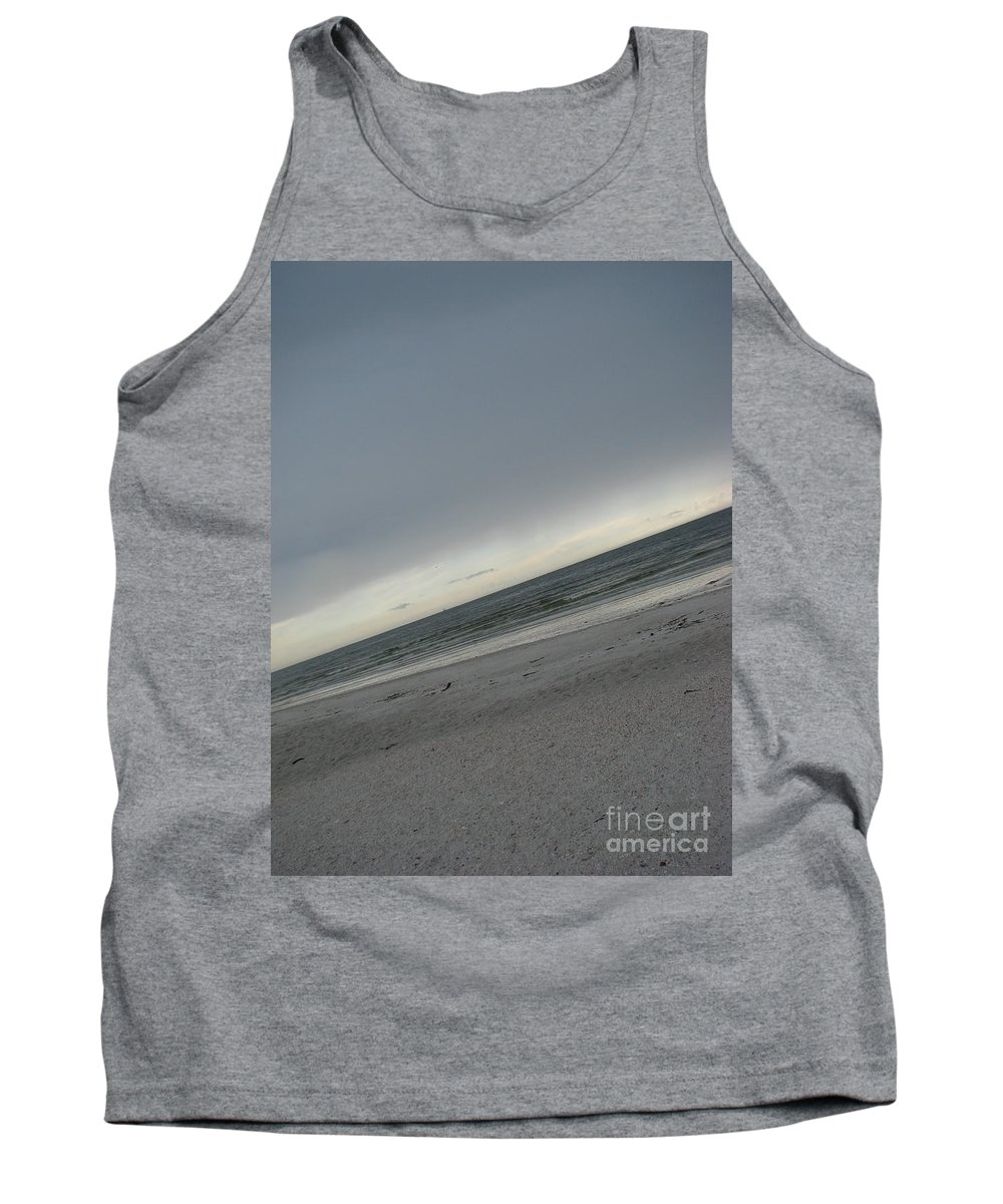 Ocean Tank Top featuring the photograph Abstract Sea by Amanda Barcon