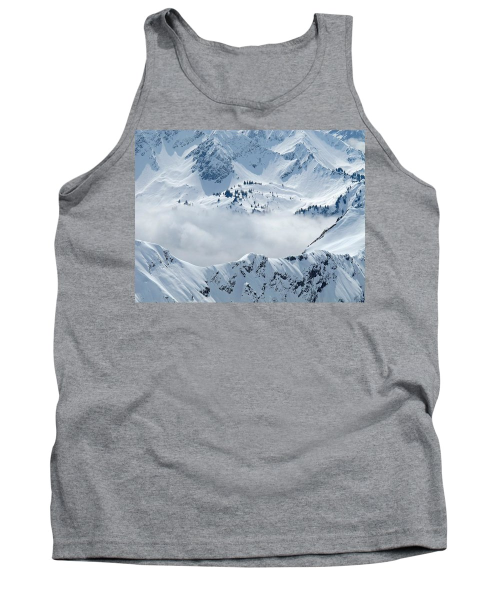 Mountain Tank Top featuring the photograph Alpine by FL collection