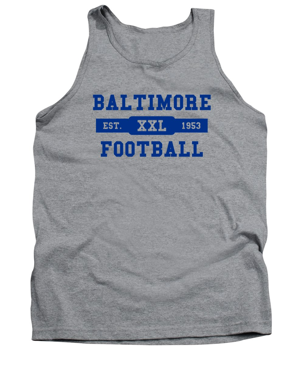 Colts Tank Top featuring the photograph Baltimore Colts Retro Shirt by Joe Hamilton
